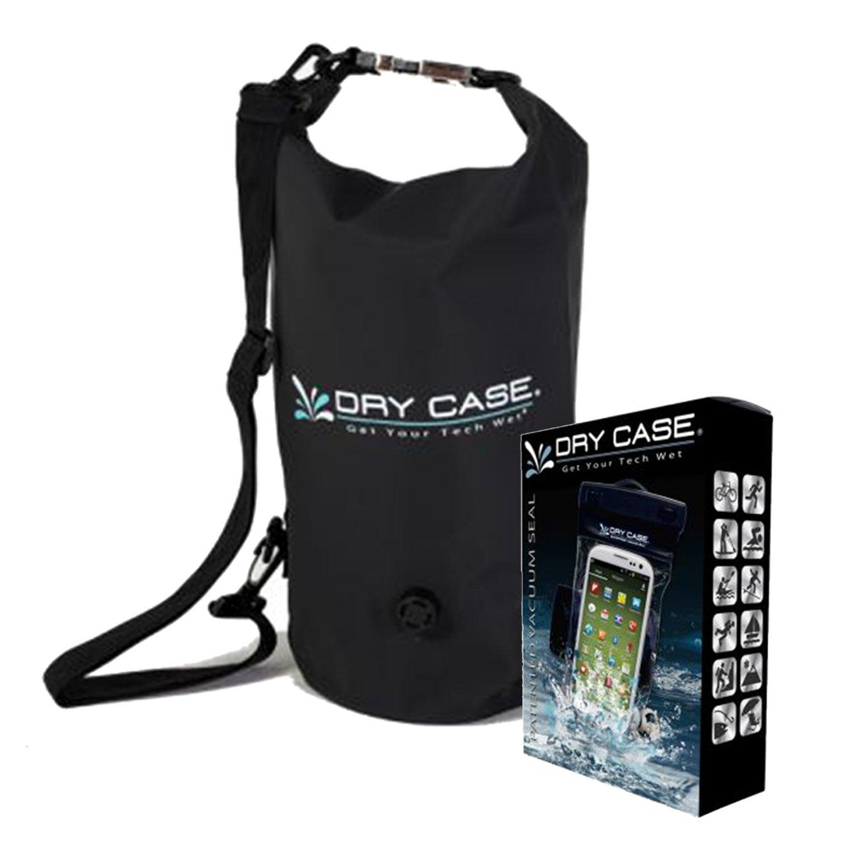 Get Quotations · DryCASE Deca 10 Liter Waterproof Dry Bag (Black)   DryCASE  Vacuum Sealed Waterproof Smartphone 5627de250252b