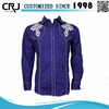 Custom Men's Embroidered Retro Western Shirt