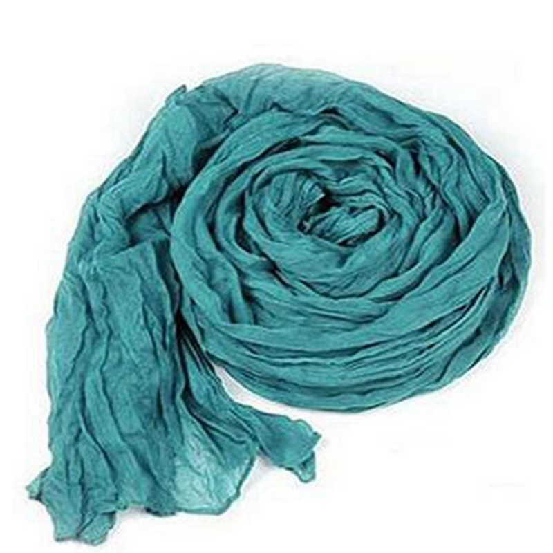 180*90 cm Large Solid viscose solid color muslim wrap headband long hijab scarf shawls