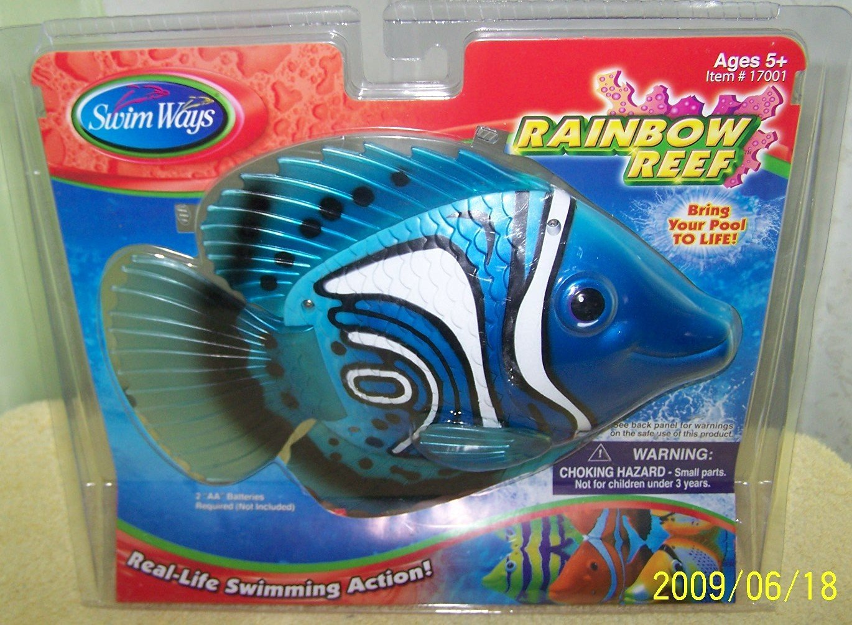 Buy Swim Ways Rainbow Reef Swimming Fish Pool Toy Blue