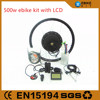 dc motor for bicycle, hub motor 48v 1000w full set of e bike conversion kit, 48v 1000w electric bike kit,