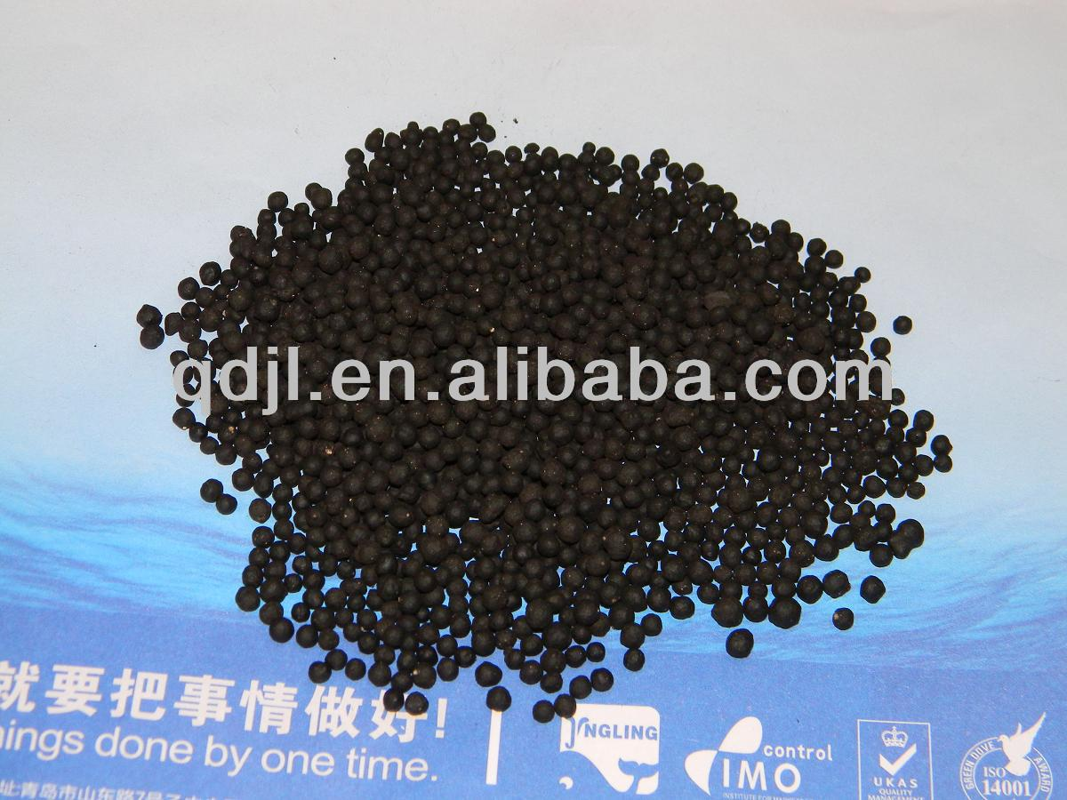 Seaweed organic compost granular fertilizer for rubber tree
