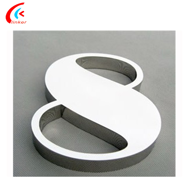 High Hardness Acrylic Metal Metal Cut Out Letters and Signs