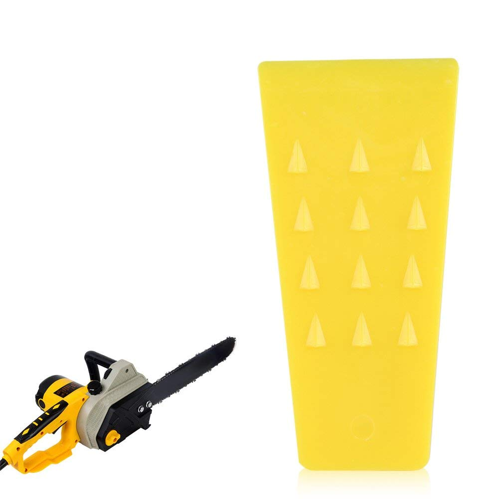 Delaman Felling Wedges 5.5 Inches Chainsaw Felling, High Impact Plastic,Tree Wedges, Cutting Cleaving Wedge