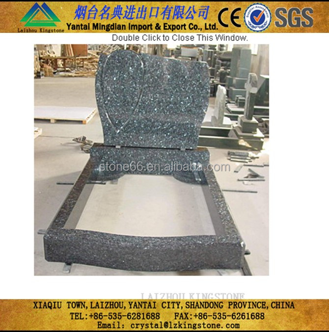 japan granite monument,nature stone tombstone customize
