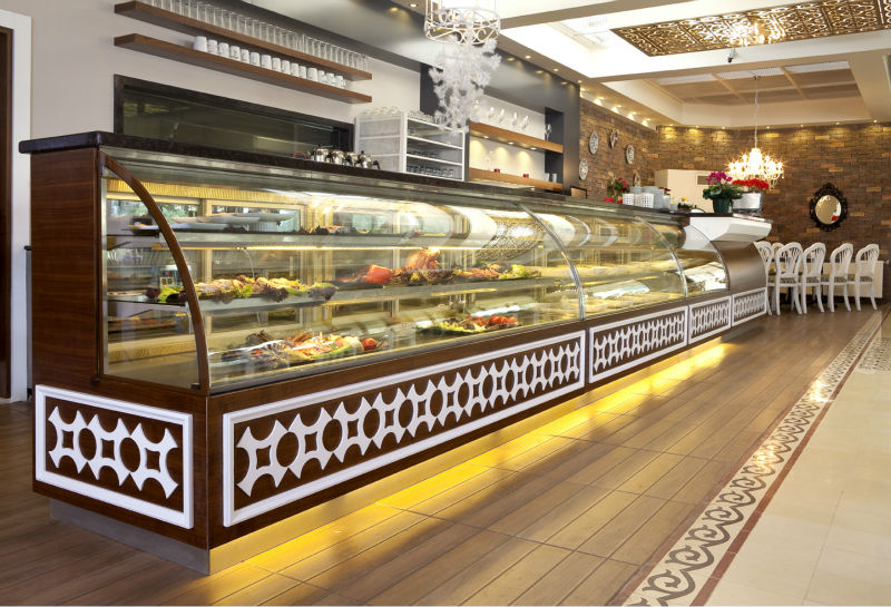Food Display Cabinets Buy Glass Food Display Cabinet Product On