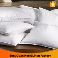 Microfiber Filled the pillow inner body pillow core soft hotel pillow wholesale