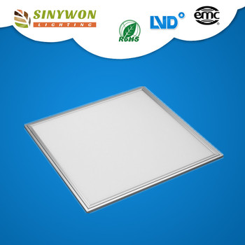 Aluminium frame ultra-thin 600x600 kitchen 36w 40w led 6060 ceiling panel light