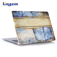For Apple Computer Laptop Jean Print Pattern Hard Shell Protective Plastic Case for MacBook Air 13