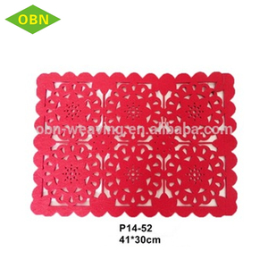 Colorful plastic poor restaurant dining table mat