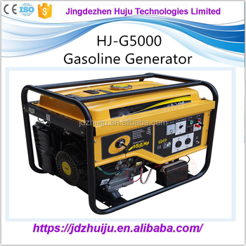 Silent Diesel Generator 5kW With Low Price Gas Generator HJ-D5000