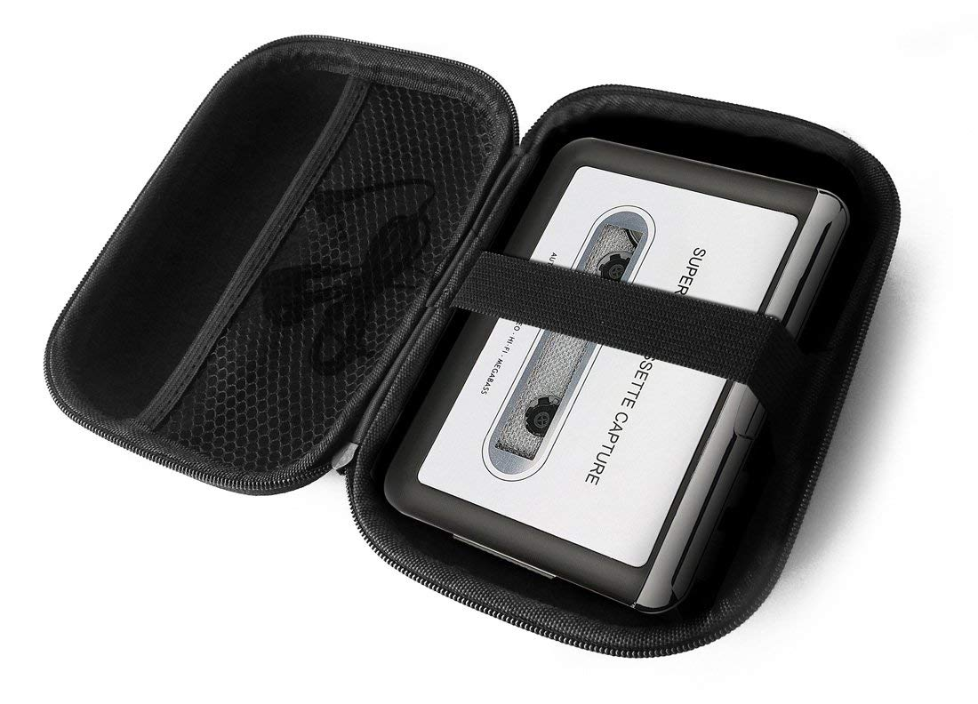 FitSand Hard Case for Reshow Cassette Portable Tape Player Captures MP3 Audio Music