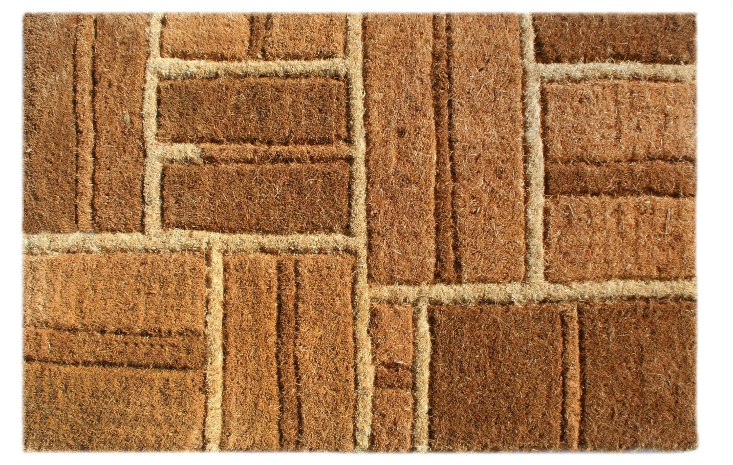 Get Quotations · Imports Decor Coir Doormat, Yellow Bricks, 24 Inch By  48 Inch