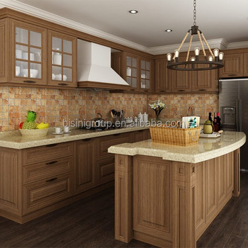 French Style Kitchen Cabinet,Traditional Vintage Kitchen Furniture  Countertop,Wood Kitchen Cabinets Design Island(bf08-7033) - Buy Classic  Wood ...