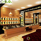 Elegant Wood Commercial Jewelry Watch Shop Furniture Jewelry Display Cabinet