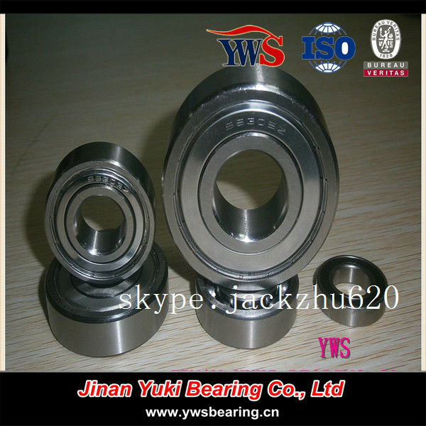 stainless steel skateboard bearings s608 s627