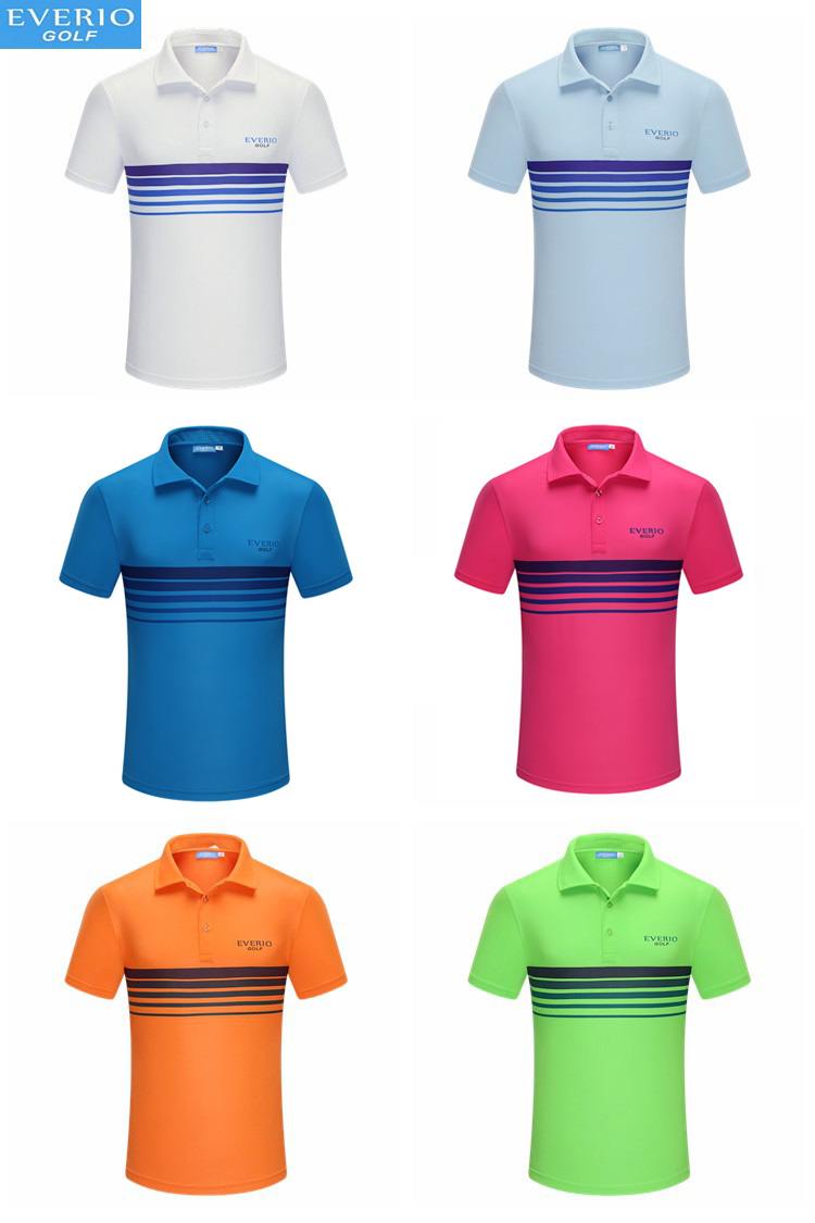 Polyester Bleach Private Label Golf Kleding mannen Polo T-shirt