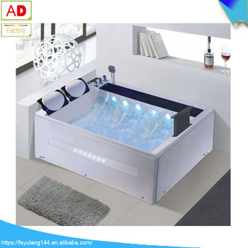 ad-3101 foshan supplier two person bathtubs acrylic massage