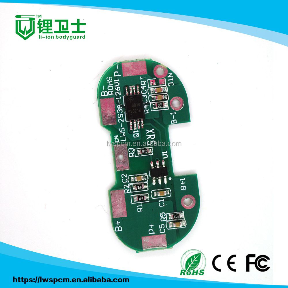 1-30s li ion battery pack bms pcb manufacturer in shenzhen/94vo pcb circuit board/usb fm mp3 player circuit board pcb
