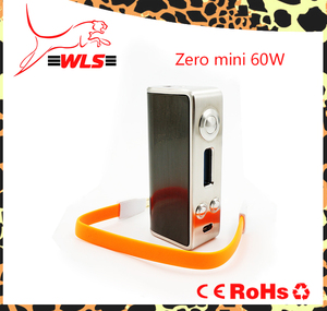Variable wattage electric sigarette zero mod 60w 2200mah 18650 battery mechanical vaping mods