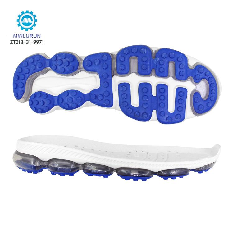 Durable Elastic EVA With Air Cushion Sport Shoe Sole