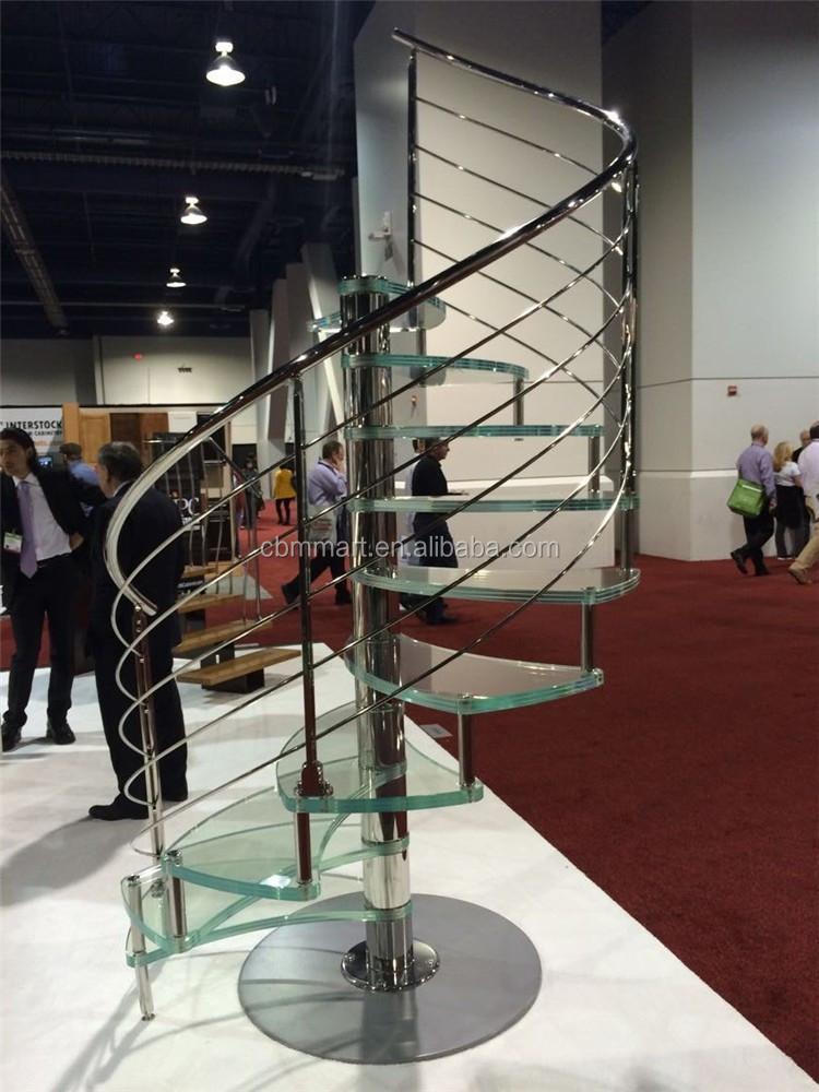 hochwertigen laminierten glas wendeltreppe preis treppe produkt id 60224606049. Black Bedroom Furniture Sets. Home Design Ideas
