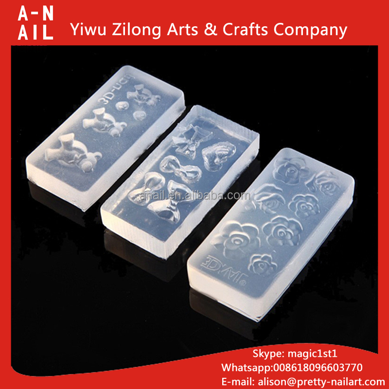 Silicone 3d Nail Mold, Silicone 3d Nail Mold Suppliers and ...