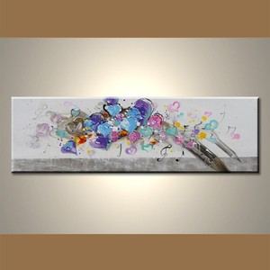 Wholesale Modern Handpainted Wall Decor Abstract arts and crafts picture