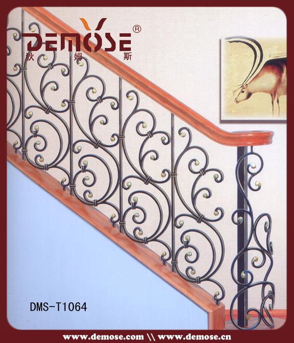 Interior decorativo hierro forjado pasamanos de la for Escaleras hierro forjado