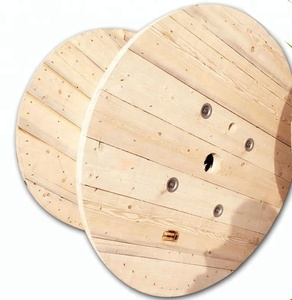 Industrial Empty Wooden Wire Spool For Sale