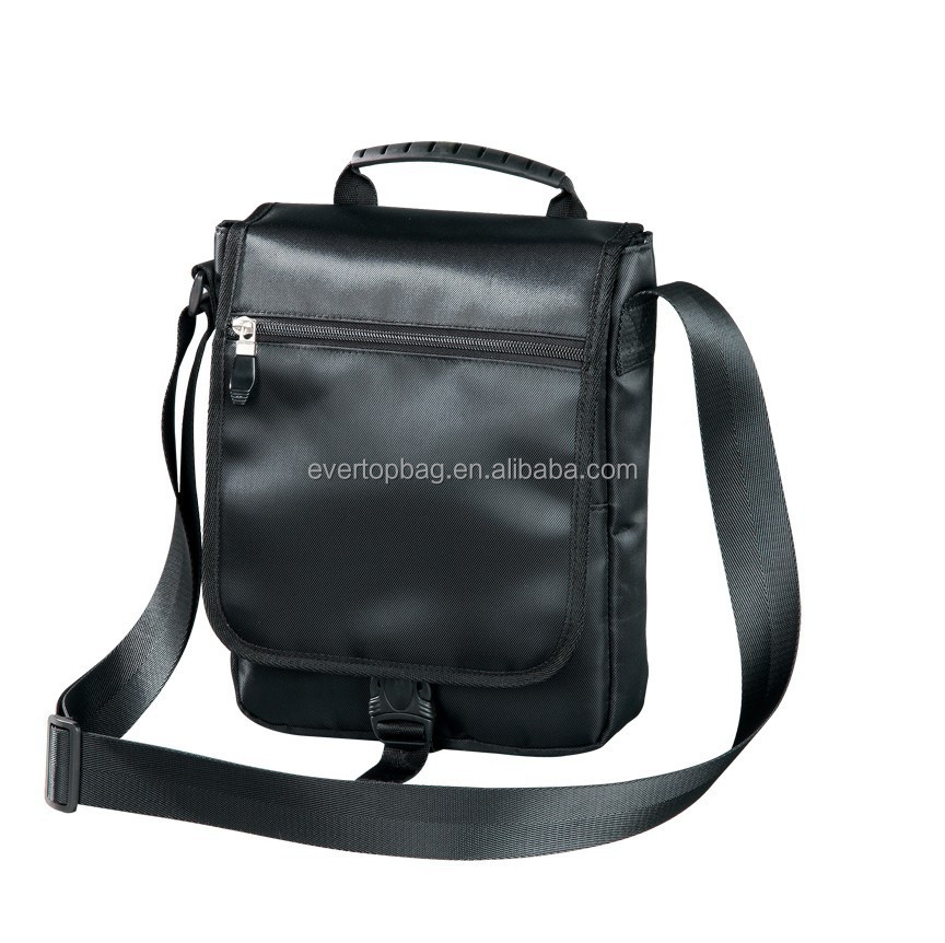 2015 Hot selling easy to carry men leather shoulder bag