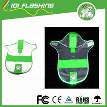 New Pet Products LED Raincoat Clothes For Small Dog