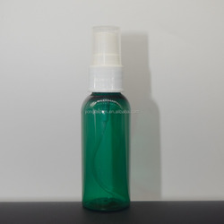 30ml PET transparent spot plastic spray and cosmetic bottles
