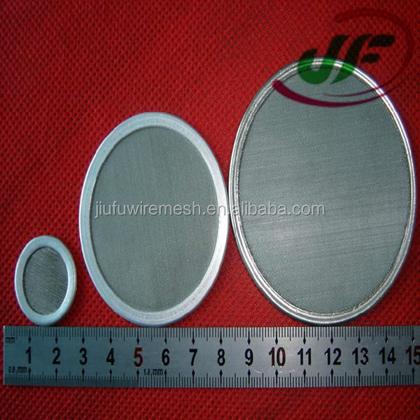Iso9001 (real Factory Manufacturer) Small Metal Filter Discs