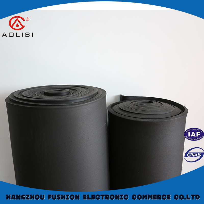 Guaranteed quality unique nbr adhesive rubber insulation sheet/sponge foam materials