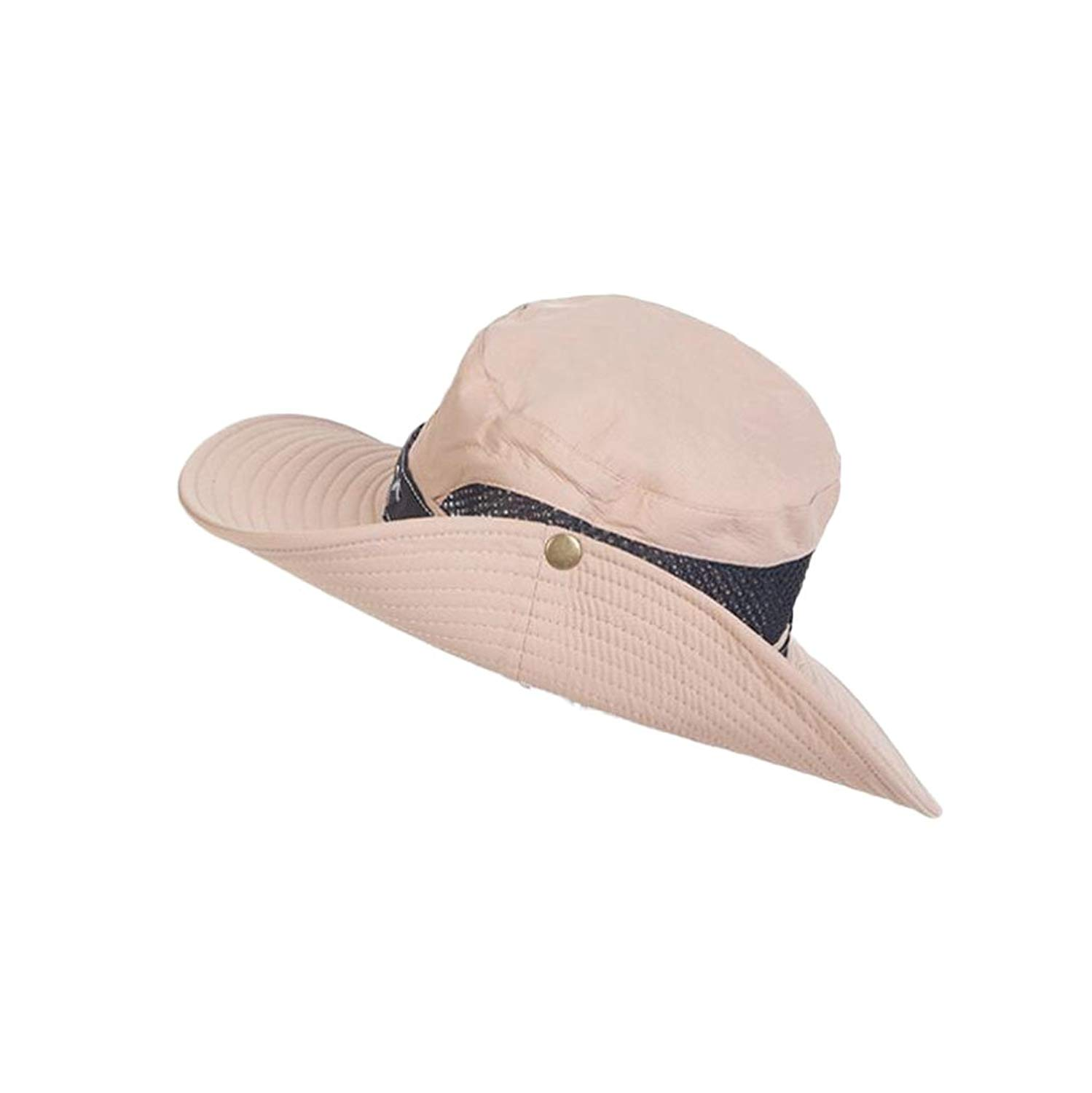 80325d49 Get Quotations · 4URNEED Unisex Wide-Brimmed Hat Summer Sun-Hats Outdoor  Hats Fishing Hats Hunting Hats