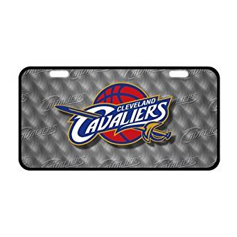 Cleveland Cavaliers Durable Metal License Plate Frame Metal Car Tag Custom Car Tag Auto Tag for Christmas gift