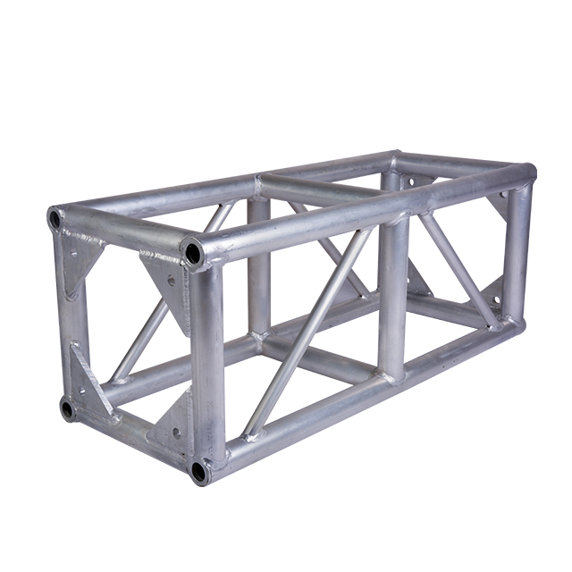 Customized Shape Truss Accessories Easy Install Aluminum Square Box Truss Modern Spigot Box Truss