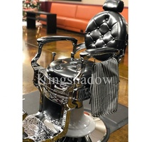 adams barber chair reclining hairdressing chair saloon chairs equipments