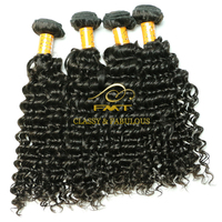 FMT top Brazilian hair weave unprocessed Jerry curl best virgin remy hair