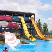 large plastic water slide for sale water park