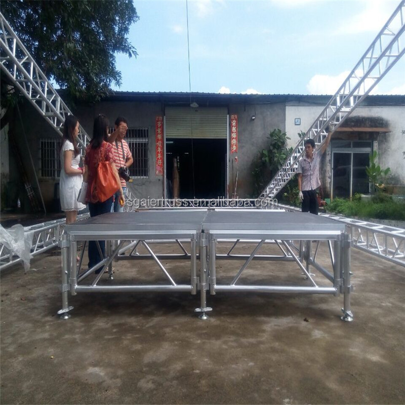 Zware easy Set Up Aluminium Podium Podium