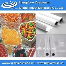 PP synthetic paper,Cheap PP Paper,Non-waterproof Adhesive PP Paper,