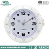 12 inch white watch shape design plastic wall clock , attractive clock