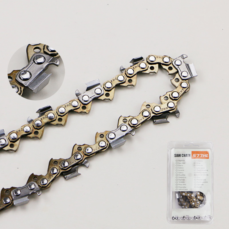 ZL04 20 inch Gold Chain For Gasoline Chainsaw Spare Parts Saw Chains
