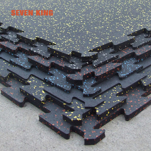 1 inch thick interlocking epdm fitness rubber gym floor tile