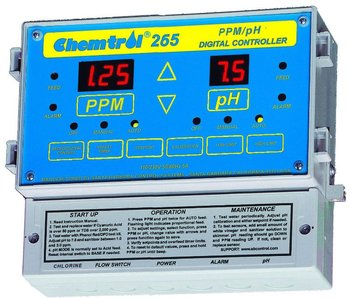chemtrol ch265 ph and free chlorine controller buy free chlorinechemtrol ch265 ph and free chlorine controller