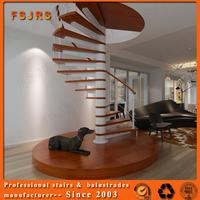 FSJRS beautiful custom inside/outside glass steel staircase railng kits