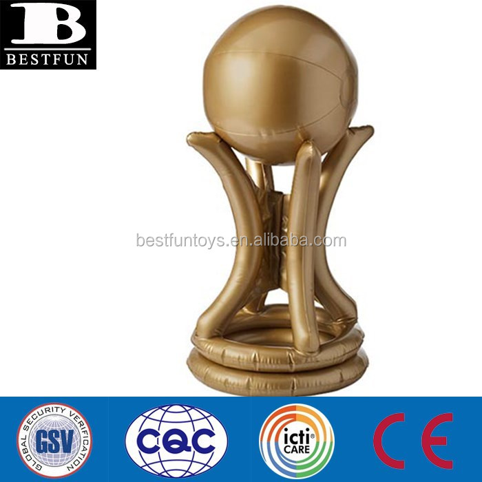 Inflatable Big Trophies World Cup Trophy Toy