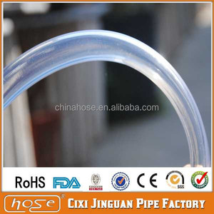 "Export UK USA FDA Food Grade 1/2"" ID x 3/4"" OD x 1/8"" Wall Vinyl Fuel and Oil Tubing, PVC Clear Tube, Clear Vinyl Tubing"